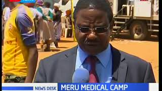 Meru County government organizes free medical camp Kianjai area
