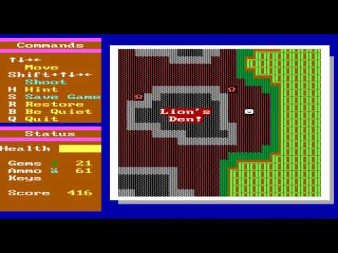 Super ZZT's Monster Zoo