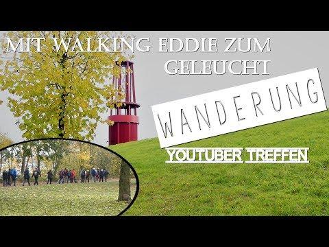 Mit Walking Eddie zum Geleucht Rheinpreußen Halde