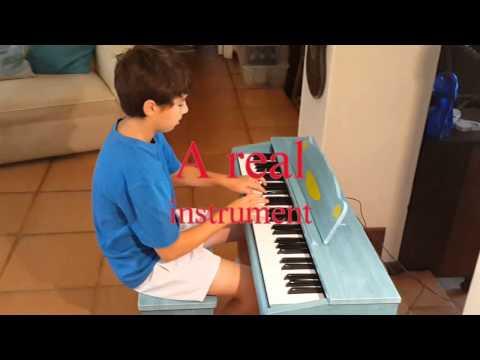 Artesia FUN-1(61-key) digitālās klavieres bērniem, zila cena un informācija | Mūzikas instrumenti un piederumi | 220.lv
