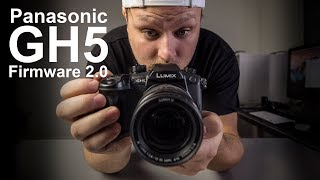 Panasonic GH5 firmware 2.0 is finally here!! - in 4k