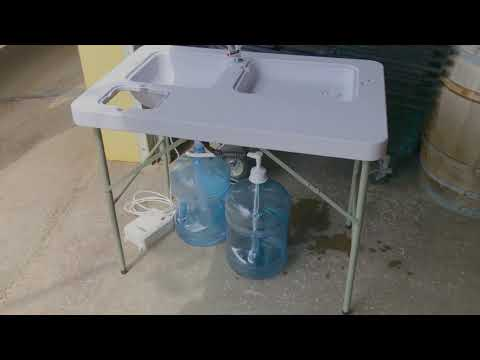 New Rental Item - Portable Sink - Growing Event Rental Business