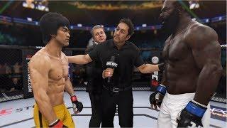 UFC 이소룡 vs 킴보 슬라이스 포악해진 버팔로를 사냥해라!