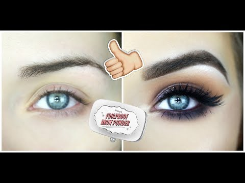 Foolproof Brow Powder by Benefit #3