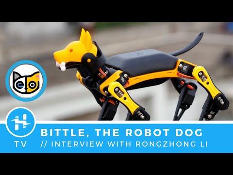 """""""Bittle"""" the Robo-Dog, ft. Rongzhong Li // Now on Kickstarter"""