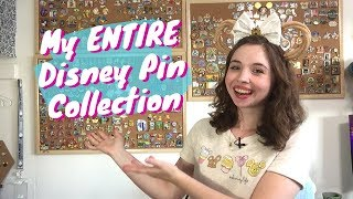 A Tour Of My ENTIRE Disney Pin Collection | 2019