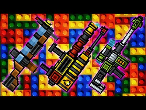 Blockman Set - Pixel Gun 3D Gameplay