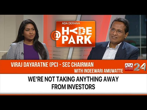 We're not taking anything away from investors - SEC Chairman