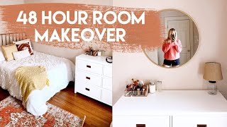 COMPLETE ROOM MAKEOVER | Creating My Dream Room!