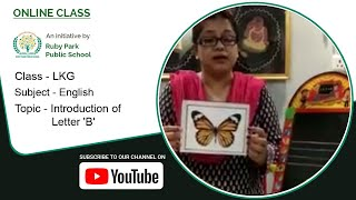 LKG | Introduction of Letter 'B' | English for Kids | Learn the Alphabet | Ruby Park Public School Thumbnail