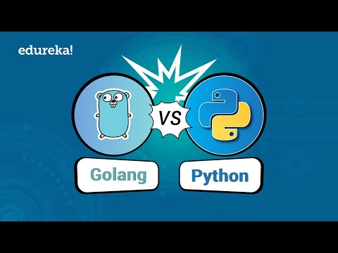 Go vs Python Comparison | Which Language You Should Learn In 2018? | Edureka