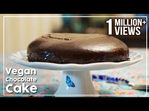 Video Vegan Chocolate Cake - No Butter, No Egg Cake Recipe - My Recipe Book By Tarika Singh