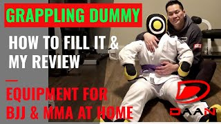 GRAPPLING DUMMY - REVIEW AND HOW TO FILL IT - BJJ, MMA, WRESTLING, GRAPPLING