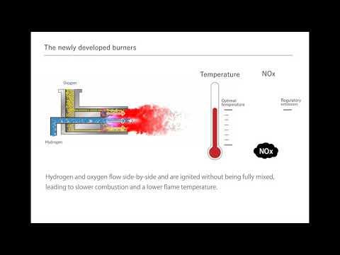Toyota - vodíkový hořák