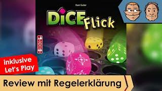 Dice Flick – Brettspiel – Review und Regelerklärung