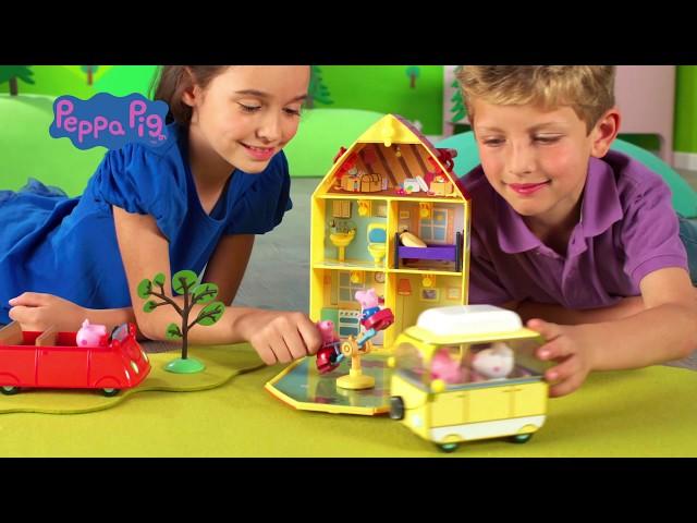 Ігровий Набір Peppa - Будинок Пеппи з галявинкою