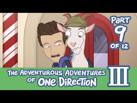 The Adventurous Adventures of One Direction 3:  Part 9