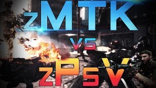 Call Of Duty  Ghost  ZMTK Vs ZPsV Clan Battle On PS4