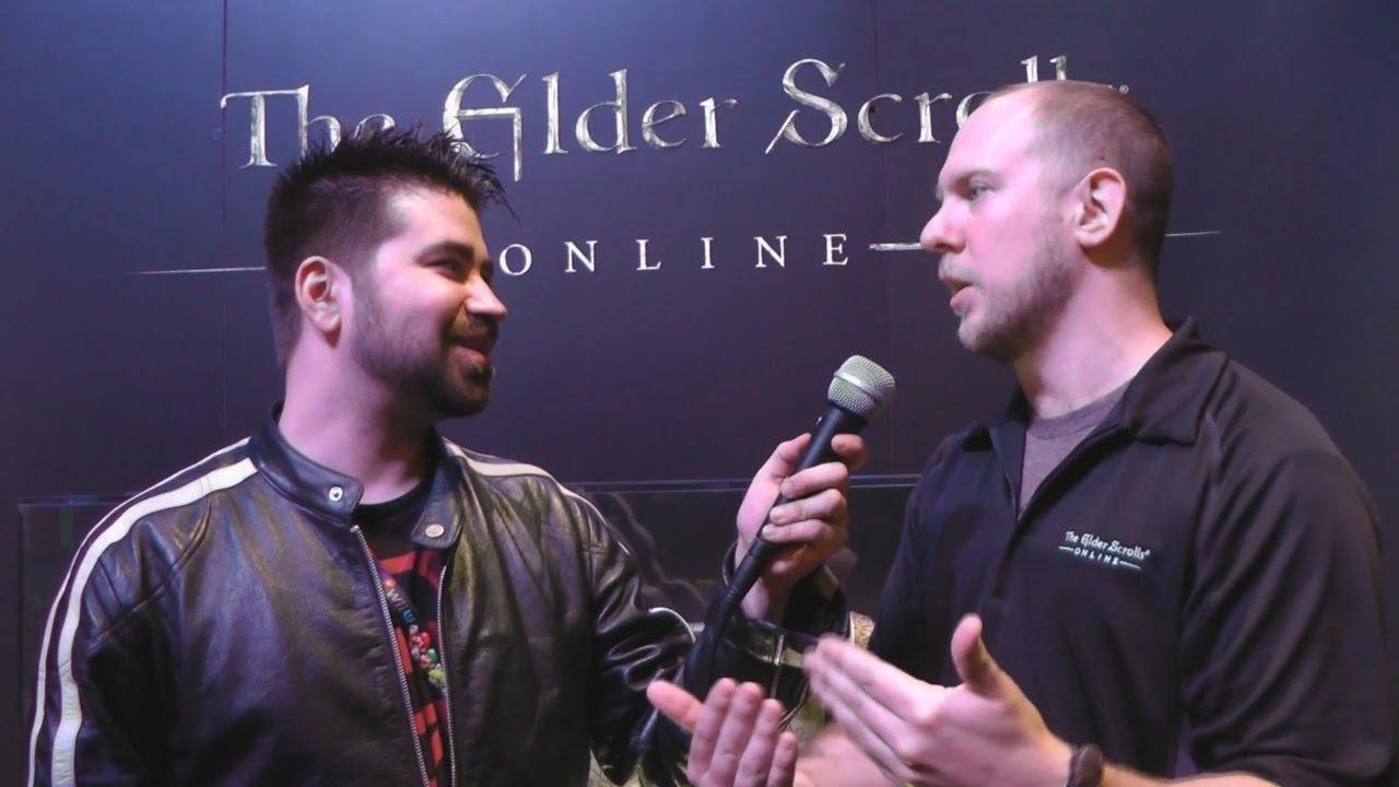 Elder Scrolls Online: видео - Elder Scrolls Online Angry Joe Interview