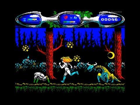 Valley of Rains Walkthrough, ZX Spectrum
