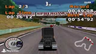 [PS1] All Star Racing 2 Gameplay with ePSXe (Full HD)[1080p]