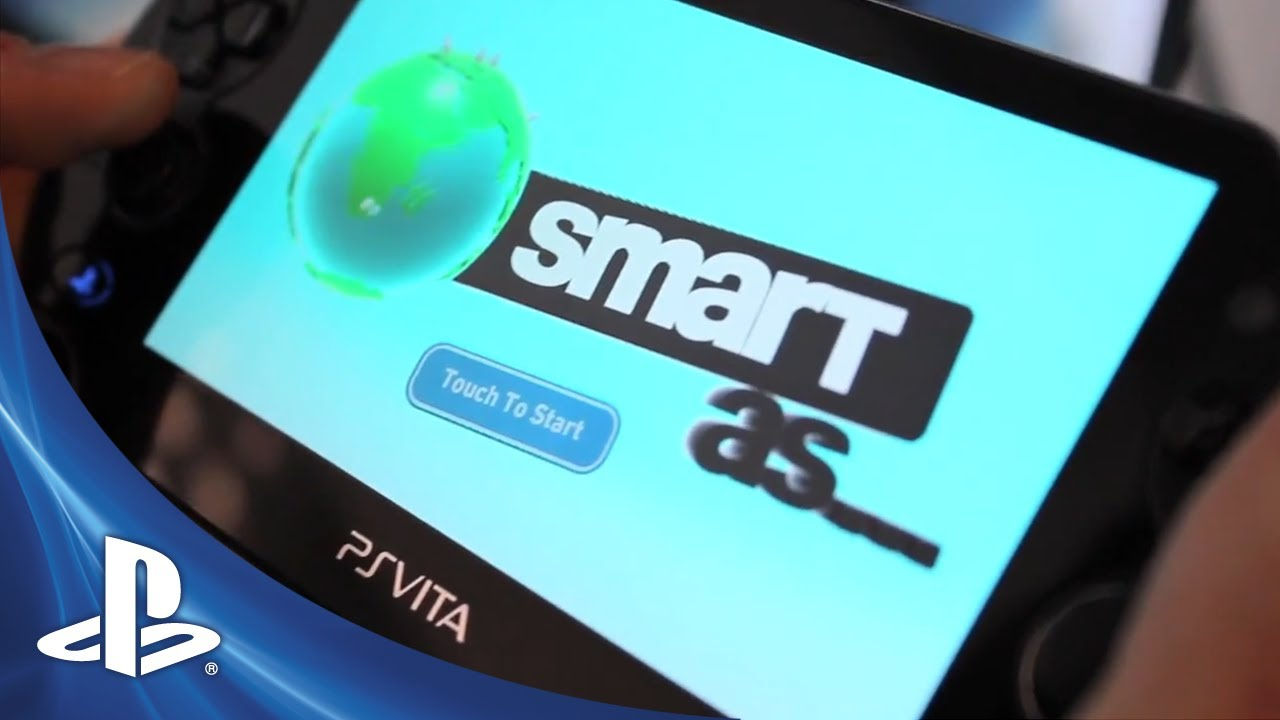 Smart As Brings Next-Gen Brain Training to PS Vita This Fall