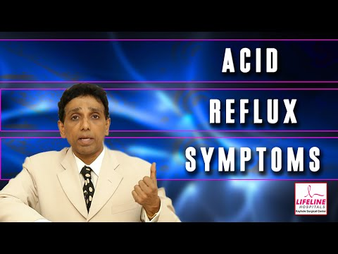 Video GERD : Acid Reflux Symptoms Explained By Dr. J.S. Rajkumar, Lifeline Hospitals