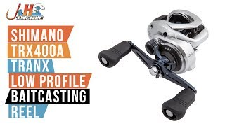 Shimano Tranx 400 TRX400A Low Profile Baitcasting Reel | J&H Tackle