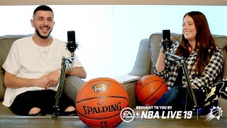 I GOT INTERVIEWED BY THE PHOENIX SUNS! *Behind The Scenes*