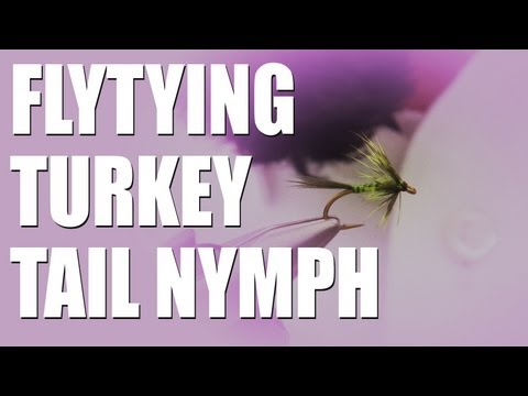 Fly Tying – turkey tail nymph for trout – how to tie it