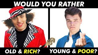 Hardest WOULD YOU RATHER Questions Ever!