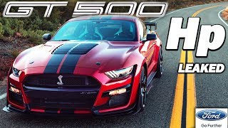 2020 Shelby GT500 ACTUAL HORSEPOWER OFFICIALLY LEAKED!