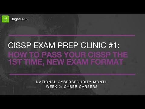 CISSP Exam Prep Clinic #1: How to pass your CISSP the 1st Time ...