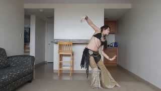 DO Belly Dance Challenge #3: Veil of Tears, Lanna Patrícia
