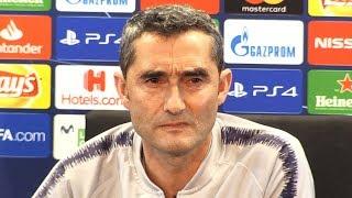 Ernersto Valverde Pre-Match Press Conference - Barcelona v Liverpool - Champions League Semi-Final