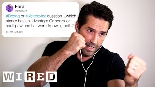 Scott Adkins (Yuri Boyka) Answers Martial Arts Training Questions From Twitter | Tech Support