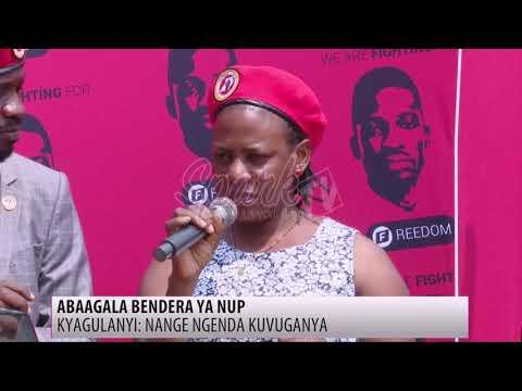NUP eyise abagala okugikwatira bbendera kubwa pulezidenti