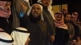 المدفع فهيد العارضي الكويت تحترق ببطئ