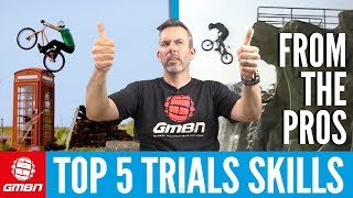 5 MTB Lessons To Learn From Pro Trials Riders