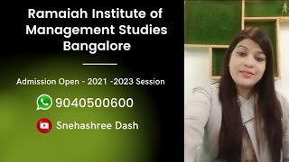Ramaiah Institute of Management Studies, Banglore