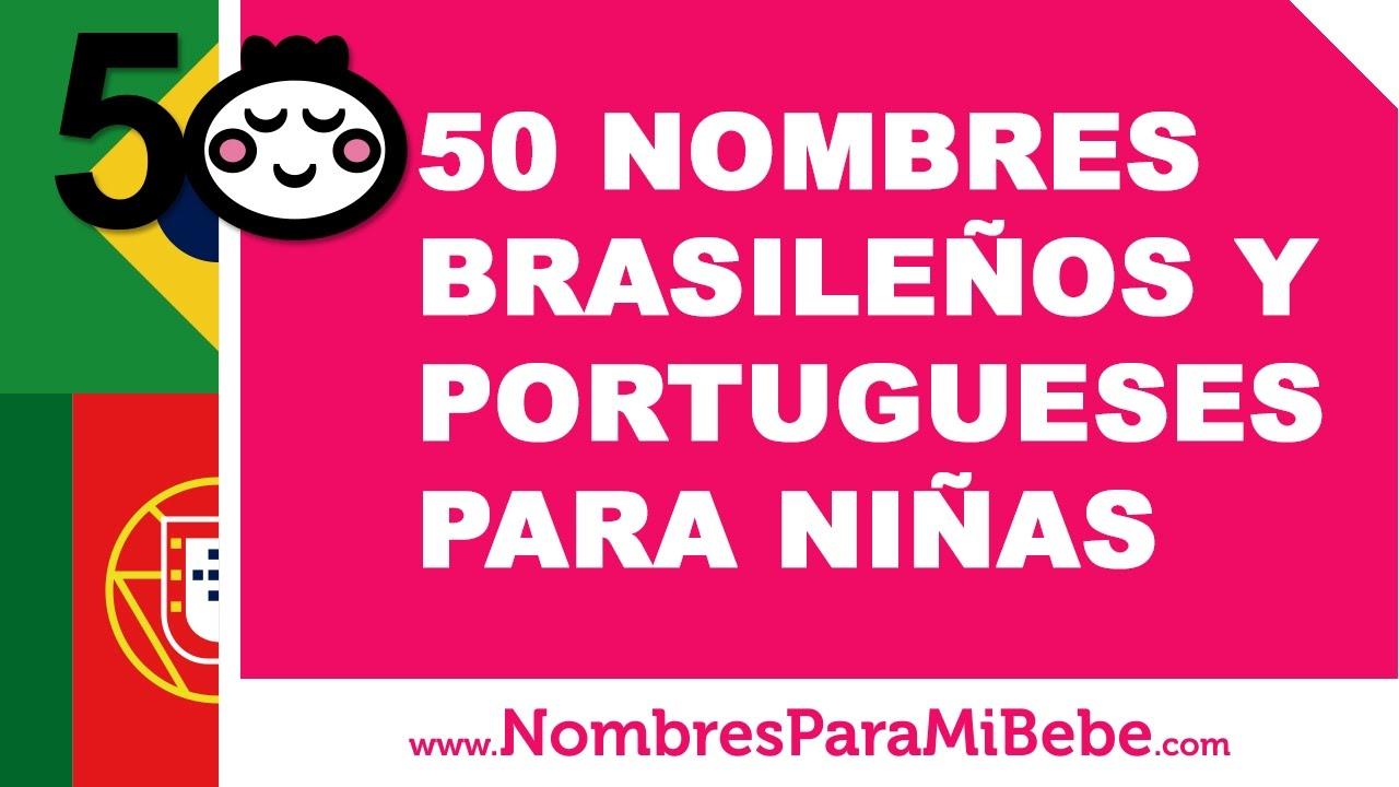 50 nombres brasileños y portugueses para niñas - www.nombresparamibebe.com