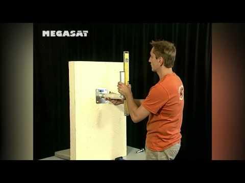 Megasat Quick Tip - Montage eines Wandhalters für Sat-Spiegel