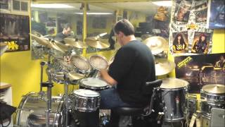 Stryper The Writings On The Wall drum cover
