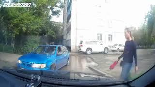 Бабы за рулем   приколы на дороге  АВТО ПРИКОЛЫ
