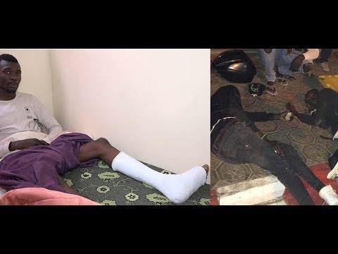 Vidéo : Renversé par la police, le blessé raconte les faits