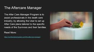 Funeral Home Software Tools