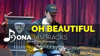 "Bona Jam Tracks - ""Oh Beautiful"" - Official Joe Bonamassa Guitar Backing Tracks in E Minor"