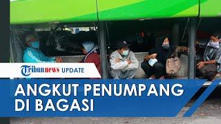 Larangan Mudik Diberlakukan, Bus AKAP di Ciledug Tepergok Sembunyikan Penumpang di Bagasi