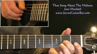 How To Play Joni Mitchell That Song About The Midway (intro only)