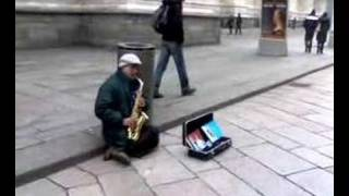 Unknown Saxophonist